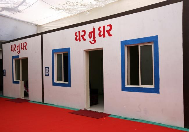 Sample house of Ghar nu Ghar scheme