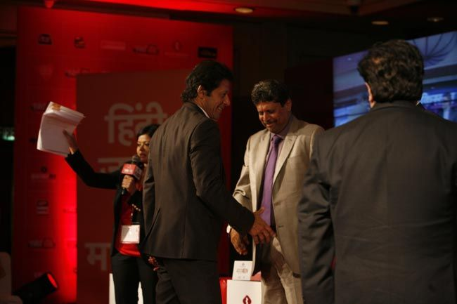 Imran Khan and Kapil Dev