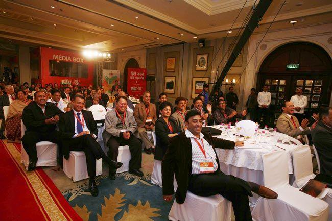 Guests at Agenda Aaj Tak 2012