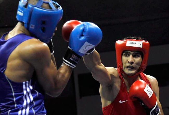 Vijender Singh falters in the quarterfinals.