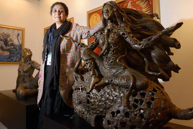 Artist Seema Kohli