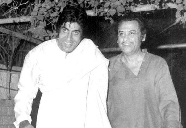 Amitabh Bachchan, Kishore Kumar