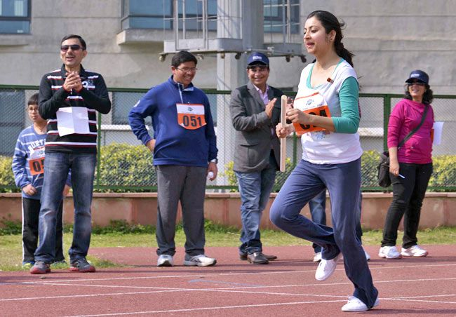 Cancer survivors sports meet, Max Healthcare