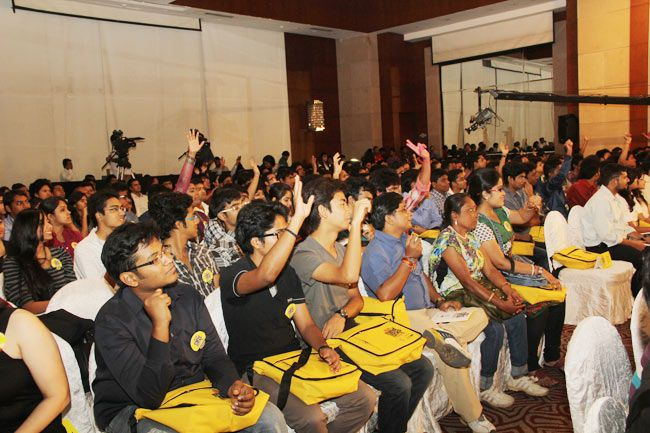 Audience at Mind Rocks Youth Summit 2013 in Kolkata