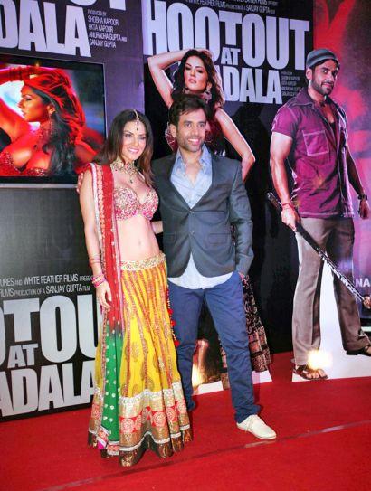Tusshar Kapoor, Sunny Leone
