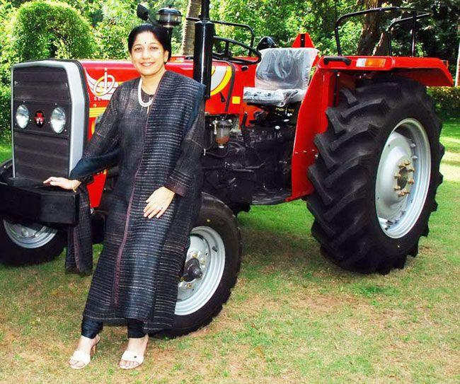 Mallika Srinivasan, CEO, TAFE