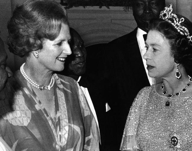 Margaret Thatcher, Queen Elizabeth II