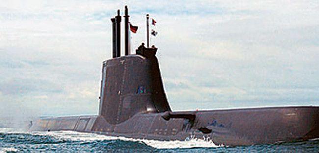 An HDW submarine