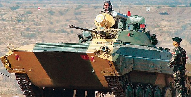 A BMP in action