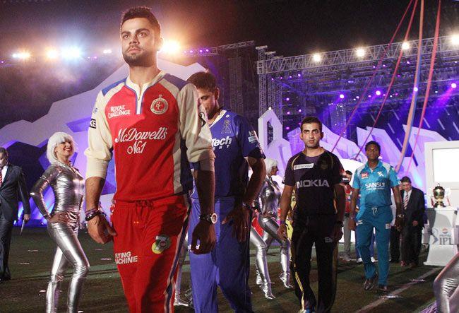 Virat Kohli, Rahul Dravid and Gautam Gambhir