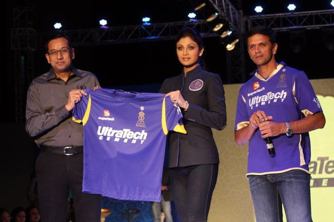 Rajasthan Royals owner Shilpa Shetty unveils RR Fan Wear Collection