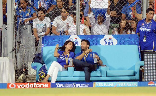 From left: Shilpa Shetty and Raj Kundra