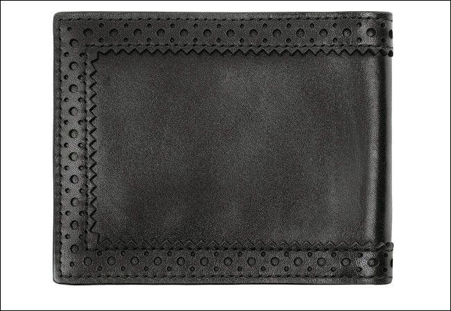 Suede wallet