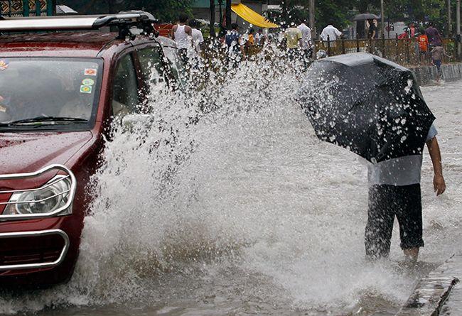 Heavy rains in India