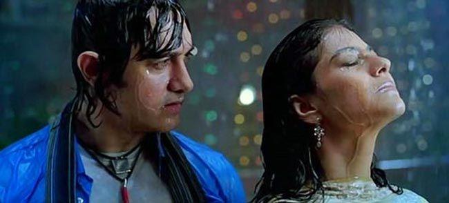 Kajol and Aamir Khan in a still from Fanaa