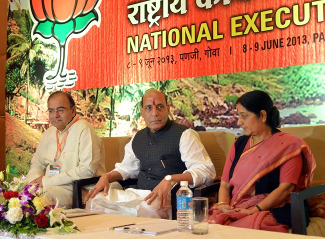 Day 2 of BJP National Executive Meet in Goa