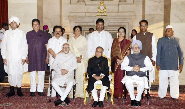 New ministers inducted in UPA-II