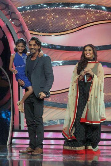 Arjun Rampal with Huma Qureshi