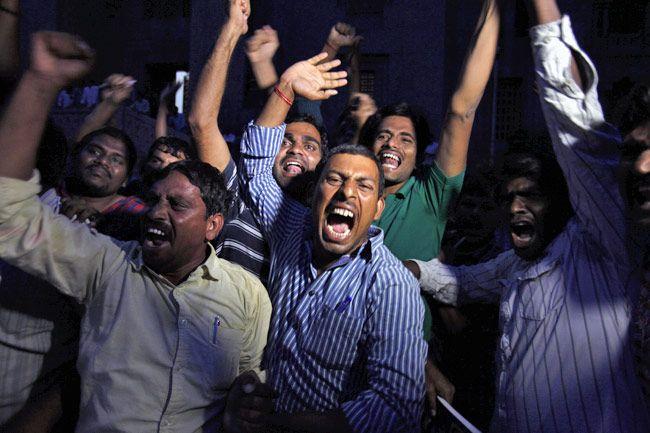 Celebrations in Hyderabad