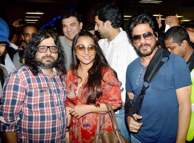 Pritam, Vidya Balan and Shah Rukh Khan