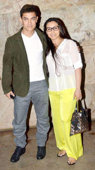 Aamir Khan and Rani Mukerji