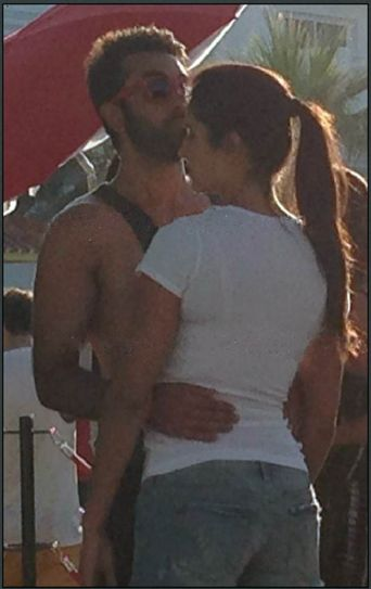 Ranbir Kapoor and Katrina Kaif in Spain