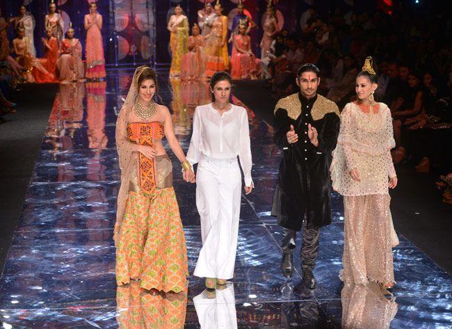 India Bridal Fashion Week 2013