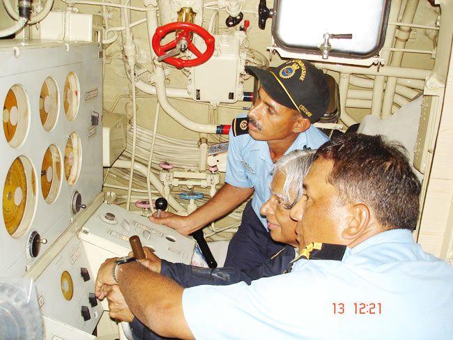 Kalam onboard Sindhurakshak