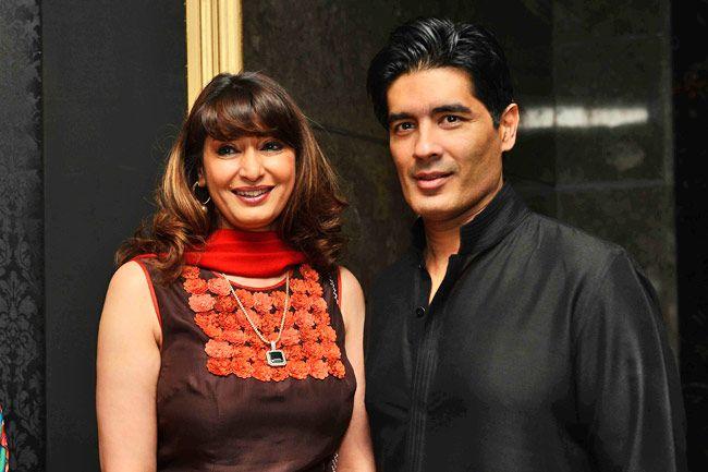 Sunanda Pushkar and Manish Malhotra