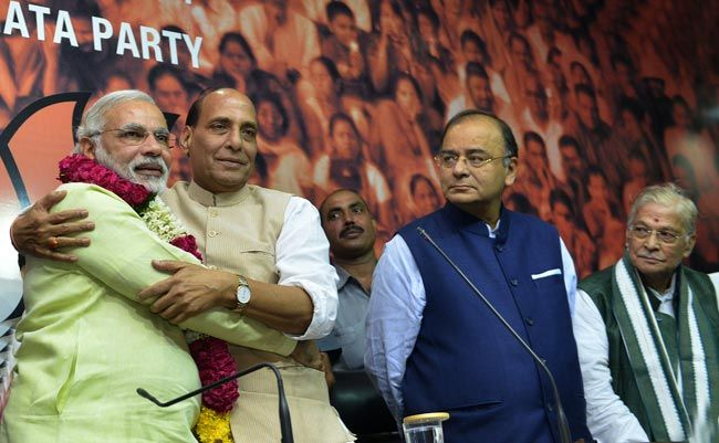 Narendra Modi anointed BJP's PM candidate