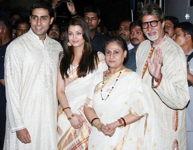 Amitabh Bachchan, Abhishek Bachchan, Aishwarya Rai Bachchan
