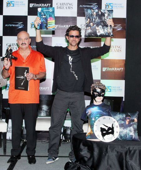 Rakesh Roshan and Hrithik Roshan