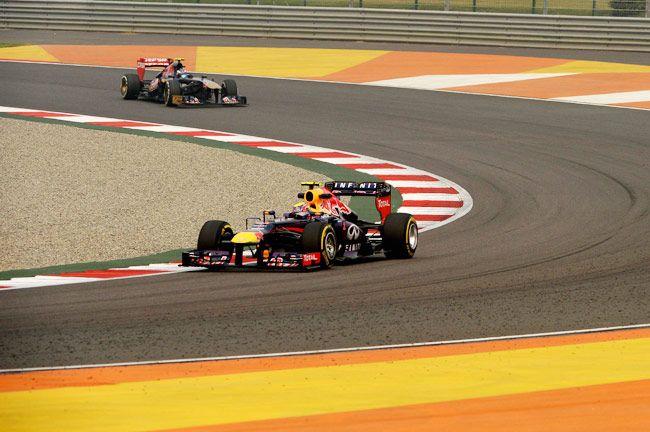 Red Bull's racing car
