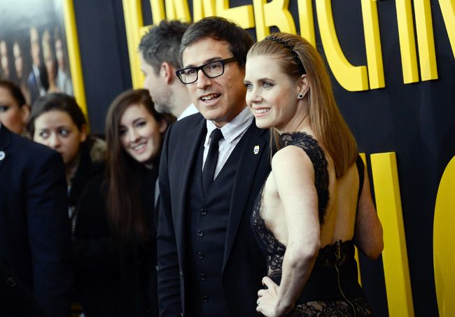 David O. Russell with Amy Adams