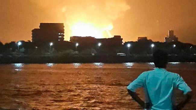 Submarine INS Sindhurakshak blast