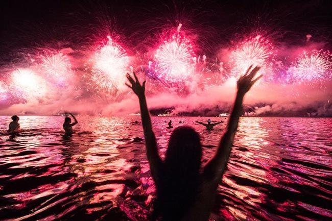 New Year celebrations, Brazil