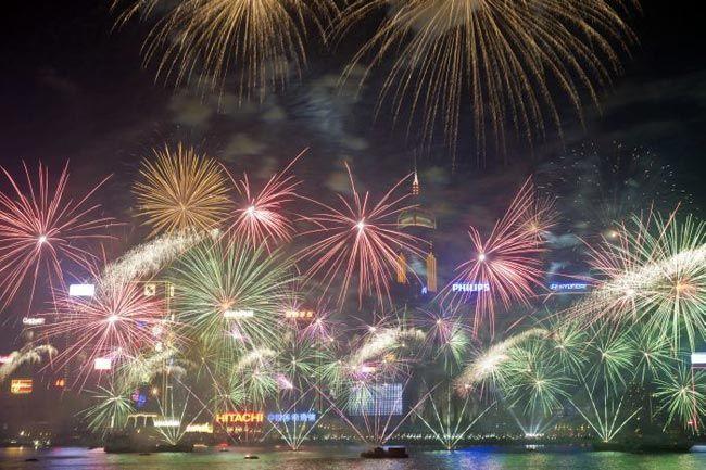 New Year celebrations, Hong Kong