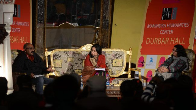 Kavita Singh, Piyush Daiya in conversation with Malashri Lal.