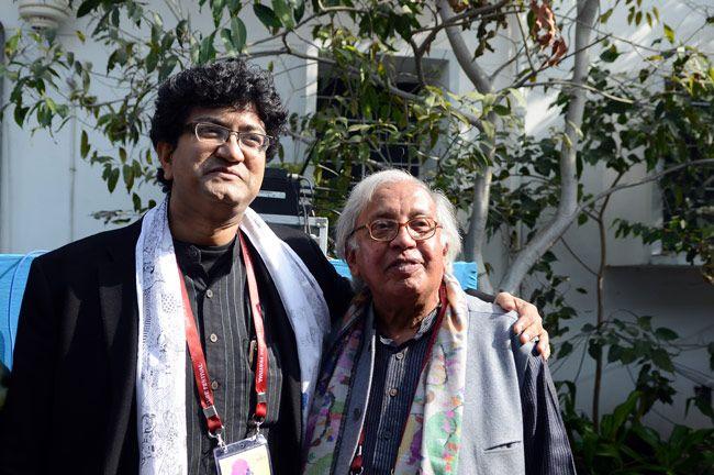 Prasoon joshi and Ashok Vajpeyi