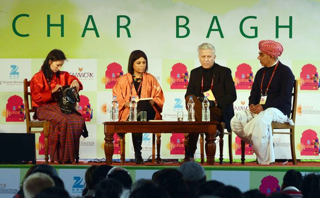 Guests at Jaipur Literature Festival 2014