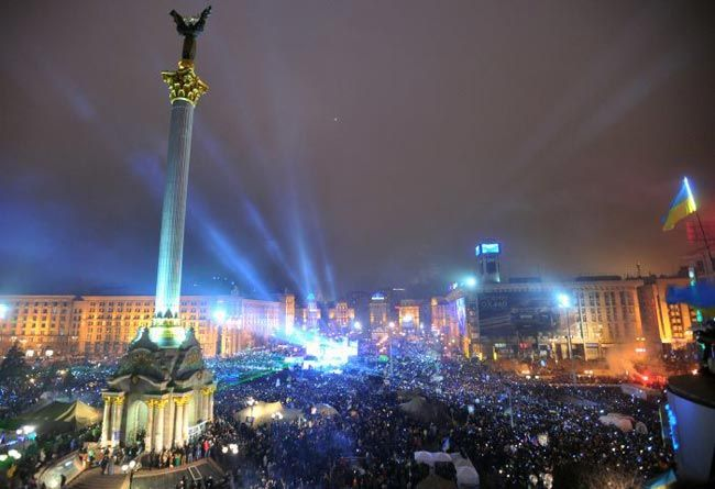 New Year celebrations, Ukraine