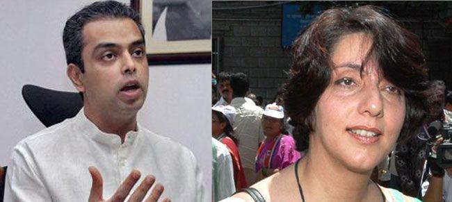 Milind Deora and Meera Sanyal