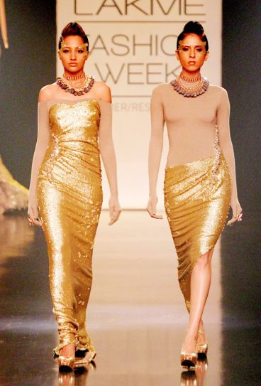 Gaurav Gupta's collection at Lakme Fashion Week