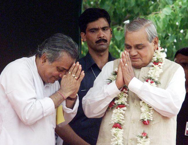 Tapan Sikdar, Atal Bihari Vajpayee, BJP