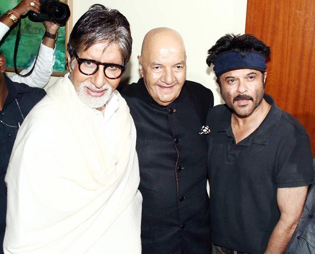 amitabh bachchan, prem chopra and anil kapoor