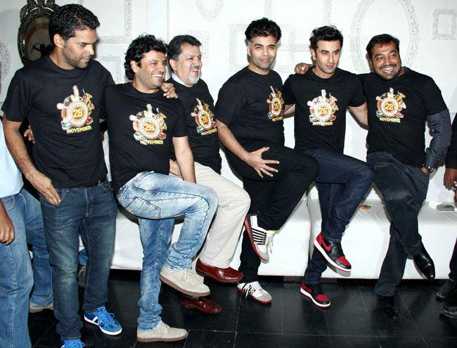 Vikram Aditya Motwane, Vikas Bahl, Vijay Singh,Karan Johar, Ranbir Kapoor, Anurag Kashyap