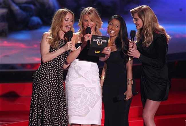 Leslie Mann, Cameron Diaz, Nicki Minaj and Kate Upto