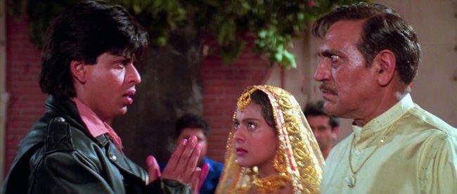 Amrish Puri, Shah Rukh Khan, Kajol