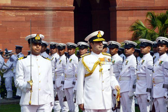 Chief of Naval Staff Admiral Robin K Dhowan
