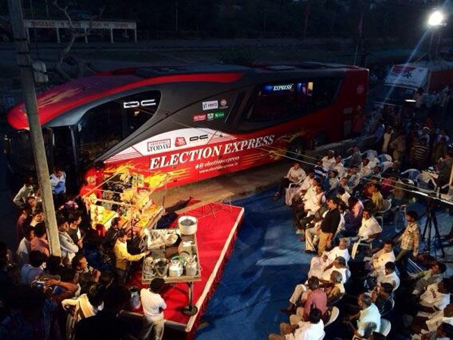 Election Express in Gujarat